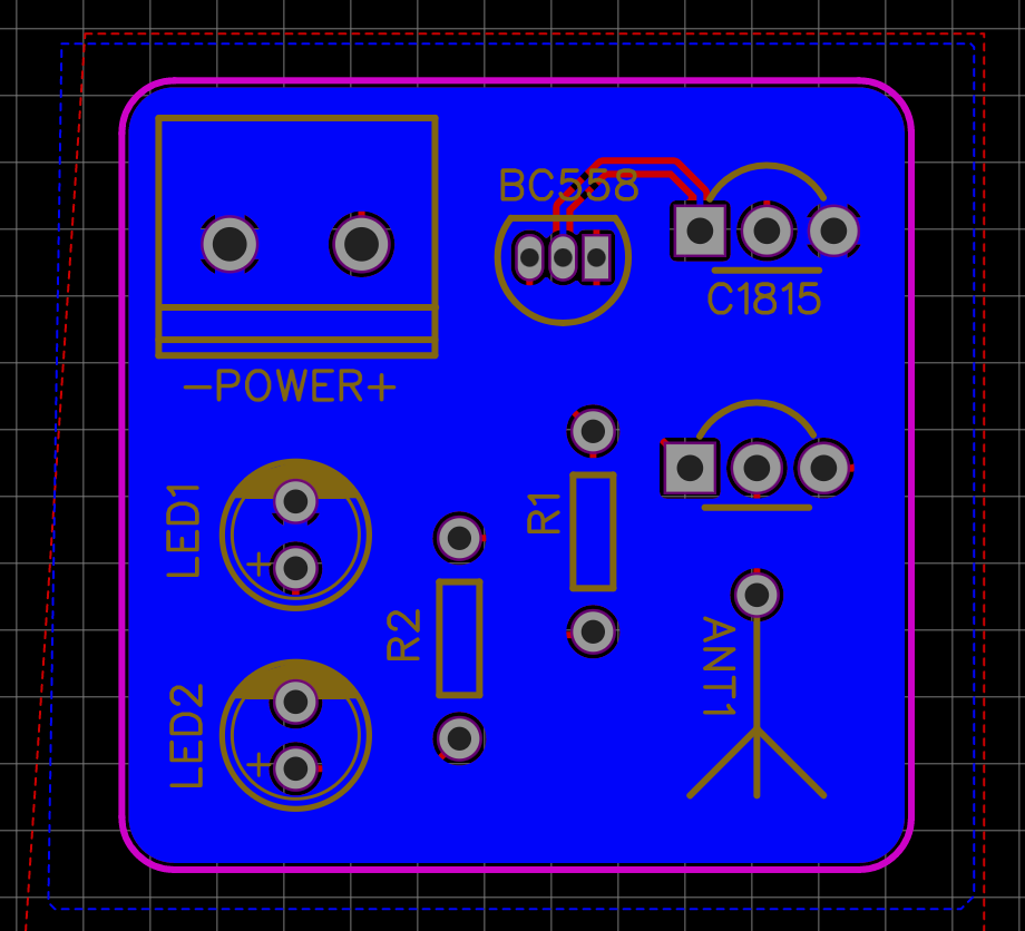 PCB Bottom layer